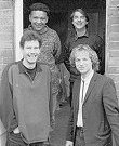 The 1994 Spikedrivers, Chris Baker - drums, Olly Blancflower - double bass, Roger Askew - keyboards